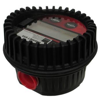 Elektronischer Einbauzähler DIGIMET E35 Anschluss