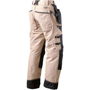 Bläkläder Extreme Bundhose beige schwarz | 60