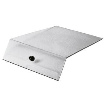 Deckel aus glasklarem Polyst. für Sichtlagerkästen