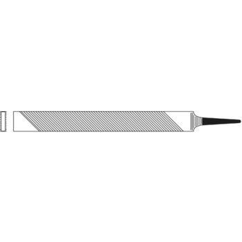 Drehbankfeilen Flachstumpf 250 mm Hieblänge Hieb