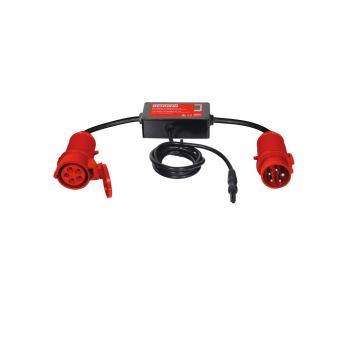 Messadapter 16 A CEE 5-polig aktiv für Gerätetest