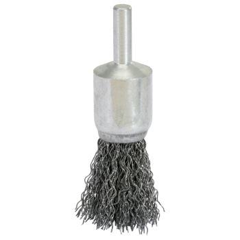 Stahldraht Pinselbürste 0,3mm, Ø 19mm 340.0016