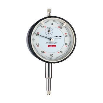 Messuhr 0,01mm / 10mm / 58mm / Stoßschutz / ISO 463 - DIN 878 10111