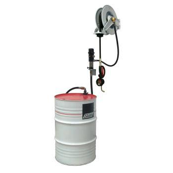 pneuMATO 3 - Wandmontage für 200 l Ölfässer mit DI