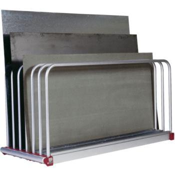 Tafelregal 6 Fächer mit 45 mm 2030 x 560 x 1000 mm