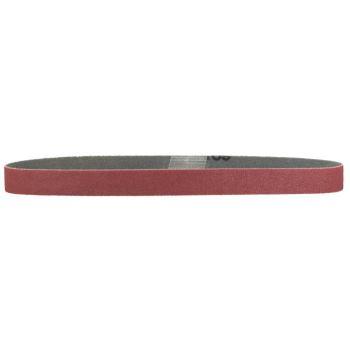 10 Schleifbänder 19x457 mm, P80, Normalkorund, für