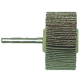Lamellenschleifrad 50 x 20 x 6 mm, P 80, Normalkor