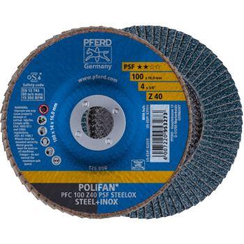 POLIFAN®-Fächerscheibe PFC 100 Z 40 PSF/16,0