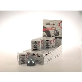 Displaykarton Inhalt: 20 Stück Topfbürsten Drm 60 mm Stahldraht STA gew. 0,35 mm Gew. M 14