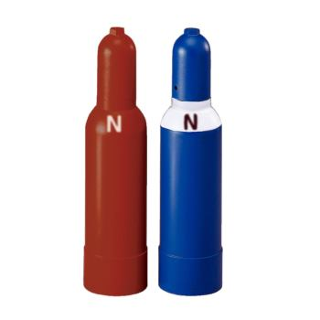 Sauerstoff-Stahlflasche, 10l, gefüllt