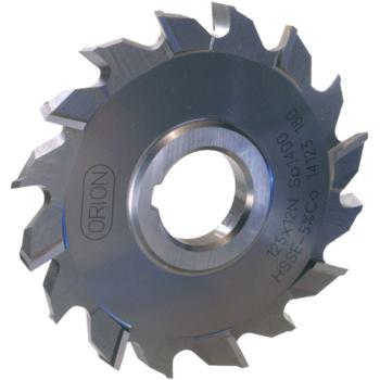 Scheibenfräser HSSE kreuzverzahnt 125x12x32 mm DI