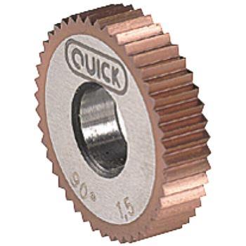 Rändelfräser Unidur RGE 1 mm Durchmesser 8,9 mm