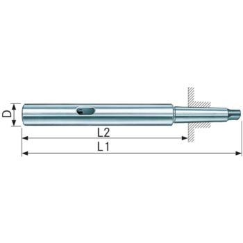 Verlängerungshülse MK 2/2 200 mm Gesamtlänge