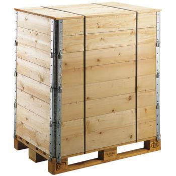 Holzaufsatzrahmen Nutz-Höhe 200 mm für Palette 800