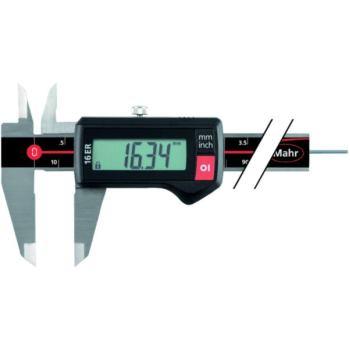 16 ER Digitaler Messschieber 150 mm eckig Tief ohn