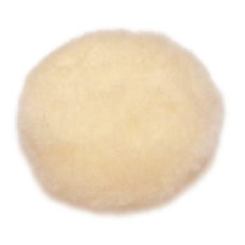 Haft-Lammfellpolierscheibe 115 mm