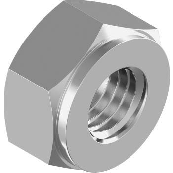 Sechskantmuttern DIN 2510-NF - Edelstahl A2 M16-NF f. Dehnschrauben