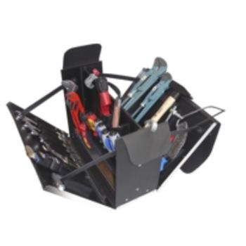 Ledertasche 4-L1, komplett, mit Werkzeugpaket 4