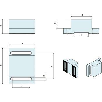 AUFSATZBACKEN-SATZ /2 KZS-100 1,5X60