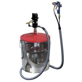 pneuMATO 55 - LubeJet, stationär für 200 kg Fässer