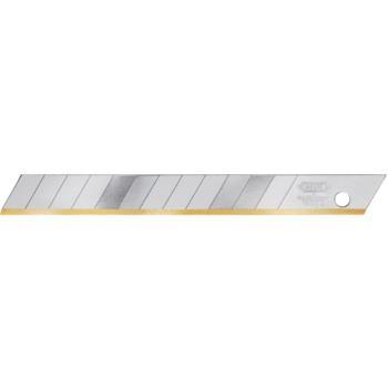 Abbrechklingen 9 mm TIN beschichtet Pack mit 10 S