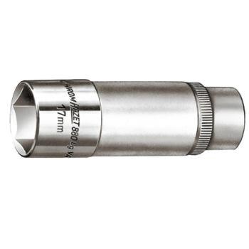 """Steckschlüsseleinsatz 17 mm 3/8"""" Zoll DIN 3124 lang"""