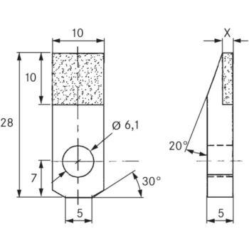 Vielkorn-Abrichter AP505G4 Typ 'DIAPLAT' D1001, 10