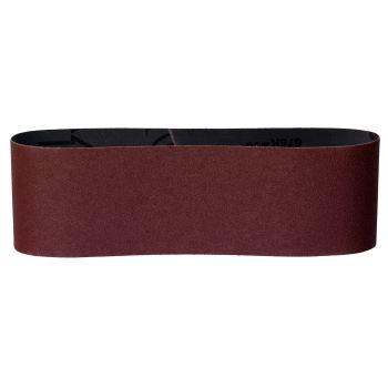 3 Schleifbänder 75x533 mm, P 100, Holz+Metall, Ext