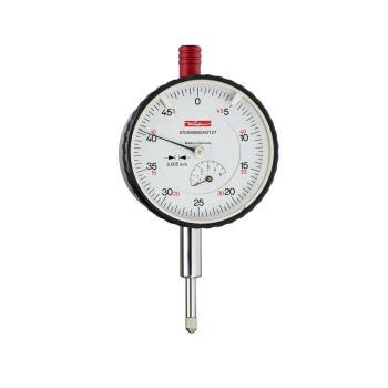 Messuhr 0,005mm / 5mm / 58mm / Stoßschutz / ISO 463 - DIN 878 10034