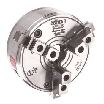 DURO-T 160, 3-Backen, Zylindrische Zentrieraufnahme, Grund- und Aufsatzbacken
