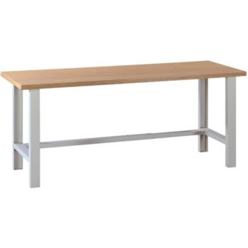 HK Arbeitstisch mit Buche-Multiplex-Platte 2000 x