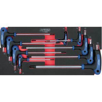 T-Griff-Innensechskant Winkelstiftschlüssel-Satz,