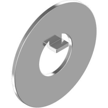 Sicherungsbleche m.Innennase DIN 462-Edelstahl A2 40 für M40, f.Nutmuttern