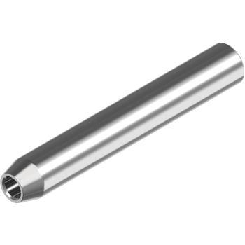 Mini-Walzterminal, IG Rechts D= 6 mm/M8, A4