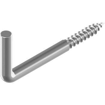 Hakenschrauben 5,0x 60 mm - Edelstahl A2