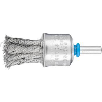 Pinselbürste mit Schaft, gezopft PBG 2323/6 INOX 0,25