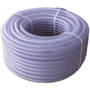 PVC Gewebeschlauch m.Einlage Durchm. 6mm, Länge 50
