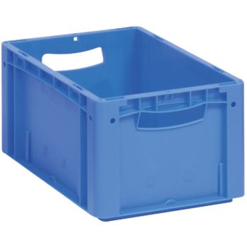 Euronorm-Stapelbehälter 600 x 400 x 220 mm rot ohn