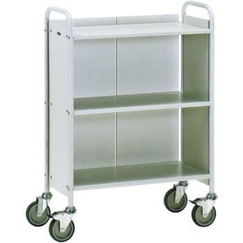 Bürowagen 4871 Ladefläche 720 x 350 mm - grau - 15