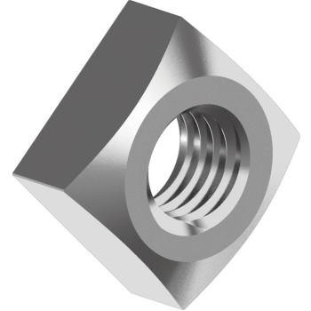 Vierkantmuttern DIN 557 - Edelstahl A2 M 6