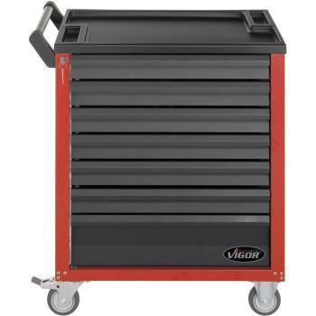 Werkzeugwagen-Vigor700-rot