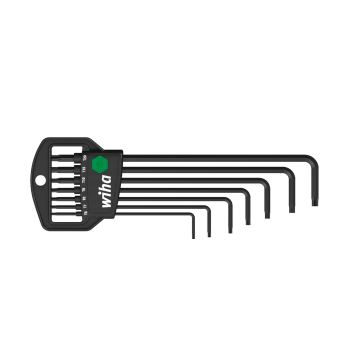 TORX® MagicSpring® Stiftschlüsselsatz im Classic H alter, 7-tlg.