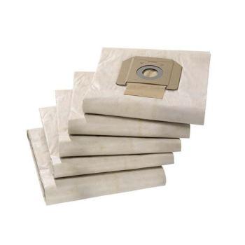 Papier-Filterbeutel 5 Stück für Nass & Trockensauger