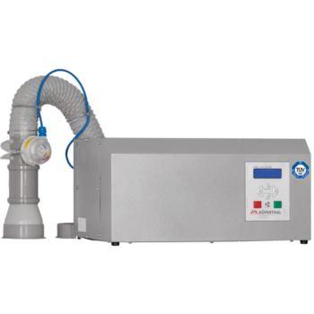 Filteraufsatz mit Ventilator und Abluftüberwachung