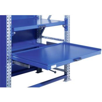 Schwerlast-Auszugregal Auszugsboden RahmentiefexFe