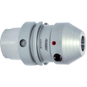 Hydro-Dehnspannfutter HSK 63 20 mm kurz - schwer D IN 69893 L1=80 mm