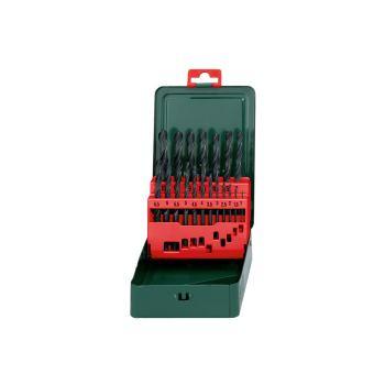 Metallbohrer Set HSS-R-Bohrerkassette 19-tlg.