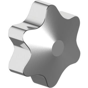 Sicherheitssterne für TX-Schrauben Größe TX 30 aus Zink-Druckguss