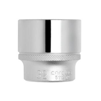 """Steckschlüsseleinsatz 1/2"""", 12-kant, 17 mm"""