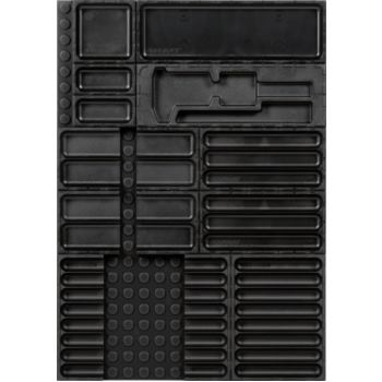 Ordnungssystem 15-teilig Abm. Matte BxT 408x576mm